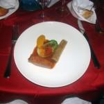 Canette rôtie aux 12 saveurs et sa texture de patate douce aux agrumes ....